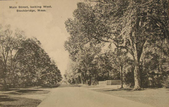Stockbridge Main St looking West 1910