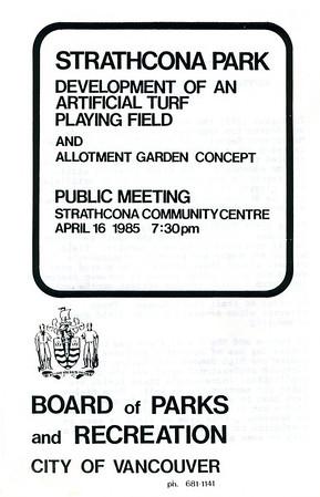 Strathcona Community Garden History
