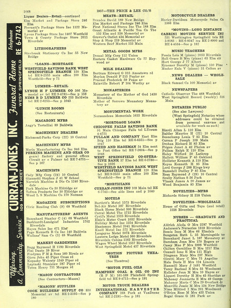 West Springfield Bus Directory 1957 06