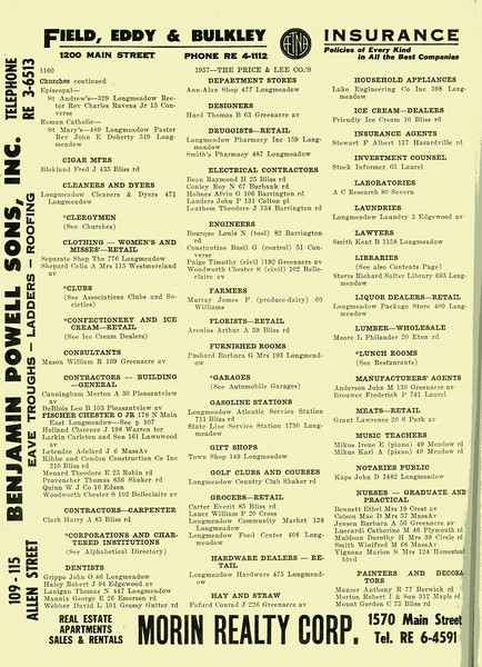 Longmeadow Bus Directory 1957 02