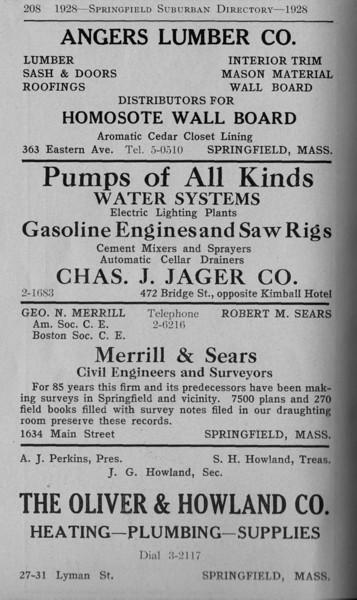Suburban Directory Ads 1928 26