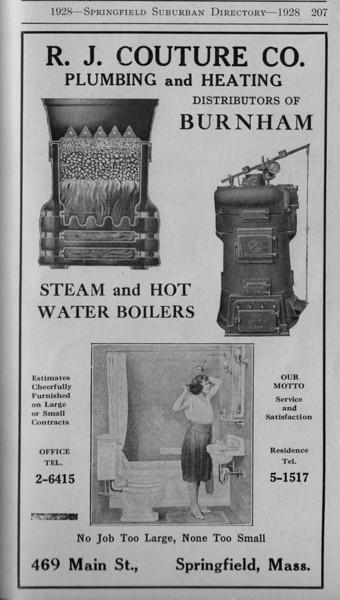 Suburban Directory Ads 1928 25