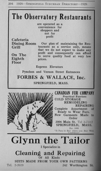Suburban Directory Ads 1928 22