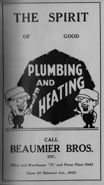 Suburban Directory Ads 1928 12