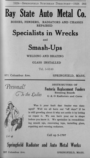 Suburban Directory Ads 1928 21