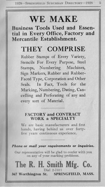 Suburban Directory Ads 1928 05