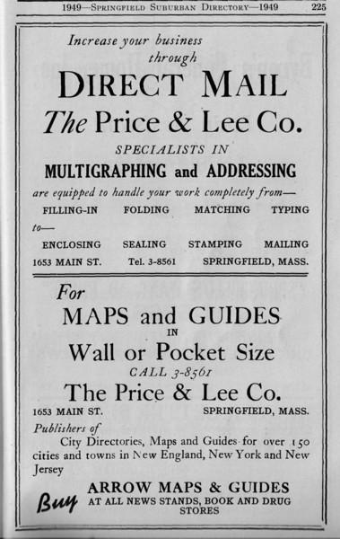 Suburban Directory Adfs 1949 30