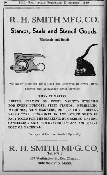 Suburban Directory Ads 1949 10