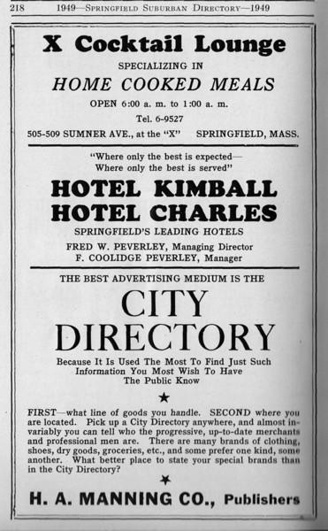 Suburban Directory Ads 1949 23