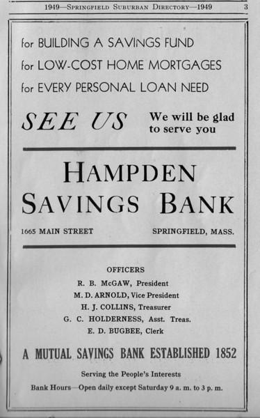 Suburban Directory Ads 1949 03