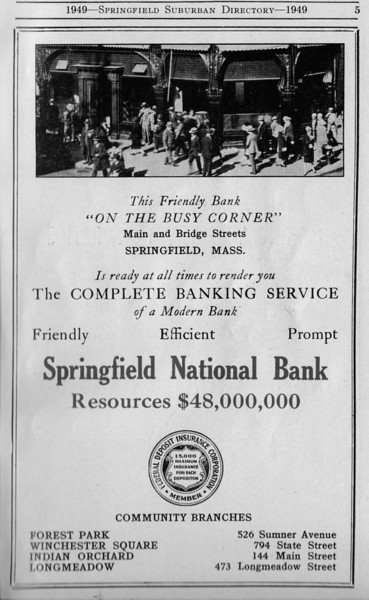 Suburban Directory Ads 1949 05