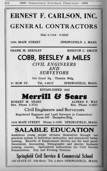 Suburban Directory Ads 1949 17