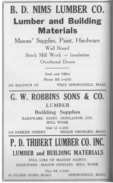 Suburban Directory 1958 1nd