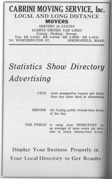 Suburban Directory 1958 1nf