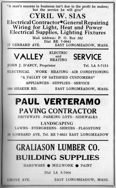 Suburban Directory 1958 1lb