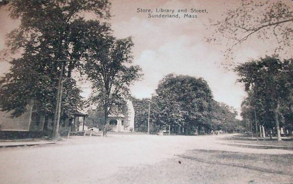 Sunderland Store, Library and Street