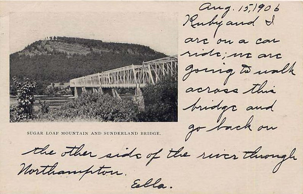 Sunderland Sugar Lof & Truss Bridge 1902
