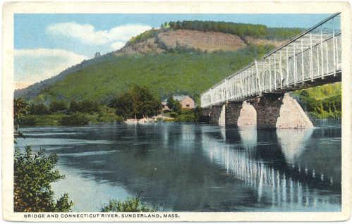 Sunderland Conn River & Bridge