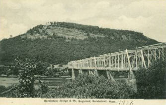 Sunderland Bridge & Mt Sugarloaf