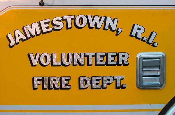 Jamestown Volunteer Fire Department Ladder Training