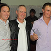 Steve Kirby, Matt Lanham and Ben Spencer at Presentation night in September 2011
