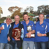 "L-R: Greg Weller, Curley Sykes, Jack Lee, Michael and Madaline Brayshaw with ""The Spoils of Victory"" in 2010."