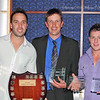 Shane Kirby, GTS Best and Fairest plus Leading Pointscorer with Club President Michael Brayshaw and Luke Levett show off a swag of awards picked-up in 2011.