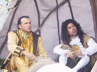 CHKOUDUN (Maliseet Chief) AND SAMUEL DE CHAMPLAIN