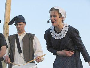 FRANÇOISE-MARIE JACQUELIN IS PLEADING HER CAUSE AND DEFENDING HER HUSBAND CHARLES ST-ÉTIENNE DE LA TOUR (CL)