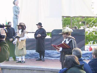 JESUITES & SAMUEL DE CHAMPLAIN (narrator in front right)