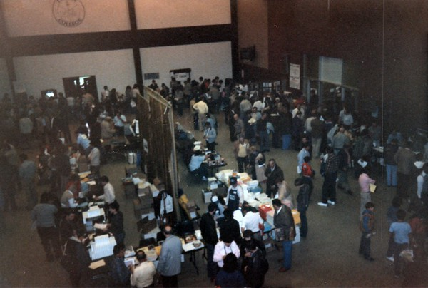 Main floor at TI Fair