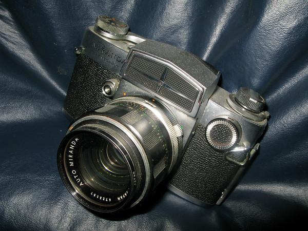vintage camera<br /> Camera = Miranda Sensorex<br /> Film = Kodachrome X, sometimes II<br /> Original slides were scanned at a medium resolution.
