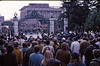 5*Thu, Jan 30, 1969<br /> *People: 2 lines of cops facing<br /> Subject: <br /> *Place: sather gate<br /> Activity: twlf protest<br /> Comments: