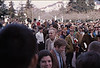 4*Thu, Feb 13, 1969<br /> *People: older student hater, crowd<br /> Subject: <br /> *Place: Sproul Plaza<br /> Activity: twlf<br /> Comments: students snickering at him