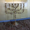 Menorah or oil lampstand inside the Holy Place.
