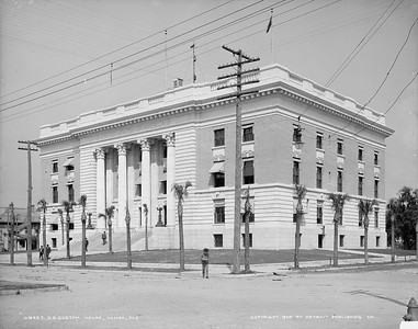 U.S. Custom House, Tampa, Fla. 1905