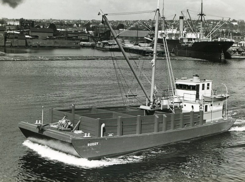Buddy  Built 1939 Seattle Nakat Packing Co  Sea trials