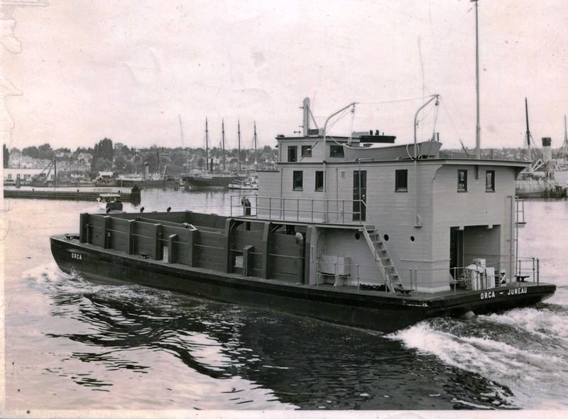 Orca  Built 1947 Seattle  Alaska Packers  Egegik Resource Development  Inc  Sea Trials