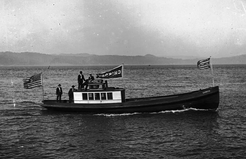 MV Chinook Tender and Pilot Boat Columbia River Astoria