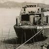 B S P  Power Scow Pic Taken After World War II in Seward  Alaska