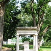 tomb of James K. Polk, 11th President of the United States, and his wife, Sarah Childress Polk