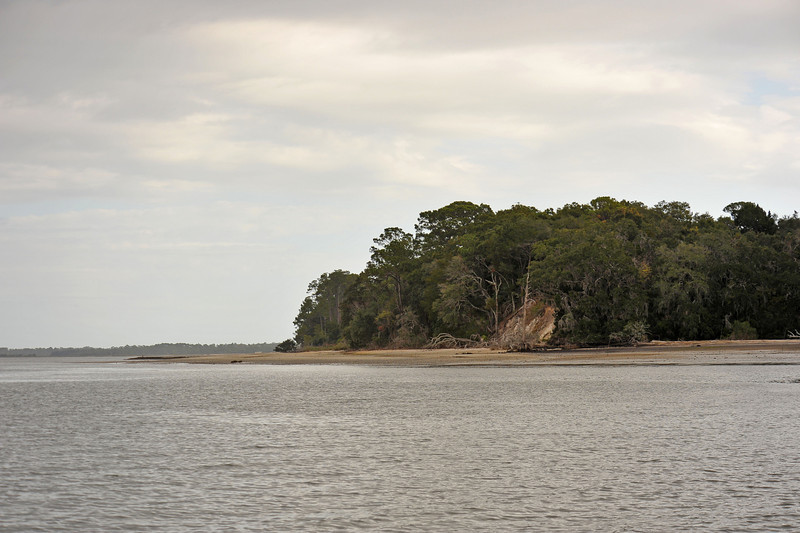 Terrapin Point area of Cumberland Island off the Intracoastal Waterway (ICW), Georgia 11-29-10
