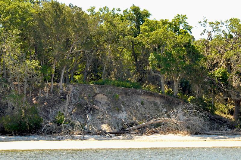 Terrapin Point on Cumberland Island, Georgia on the Intracoastal Waterway (ICW) - 04-27-12 - Documenting