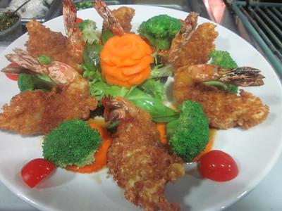 shrimp teriyaki