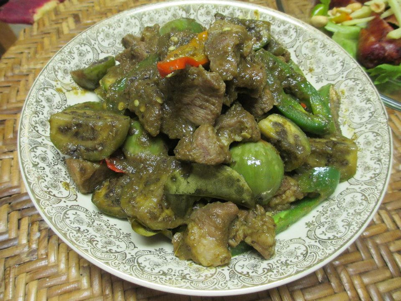 exotic green curry