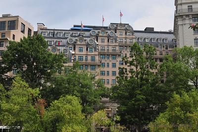 The Willard Hotel in Washington DC