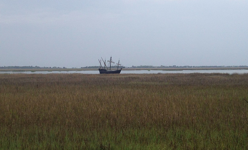 The Nina in Jekyll Creek 03-19-15