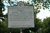 This Historical Marker was placed at Hanover Courthouse on US 301 Hwy.