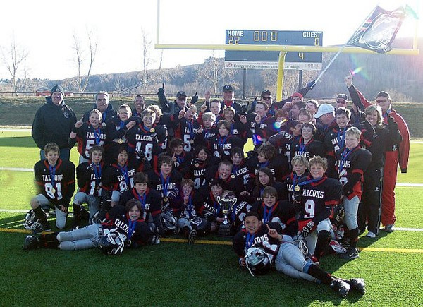 Third best football day ever - My peewees - Provincial champs!