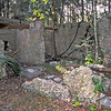 14 Tabby slave house ruin in the Thicket in McIntosh County, Georgia